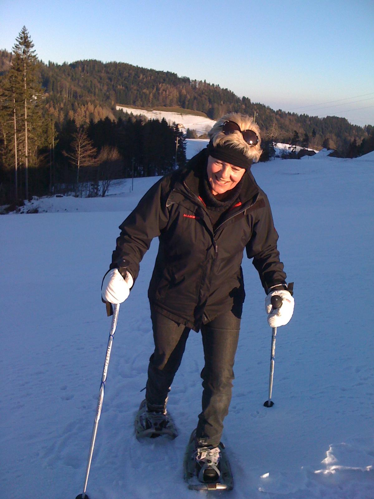 Schneeschuhtour…….Natur pur