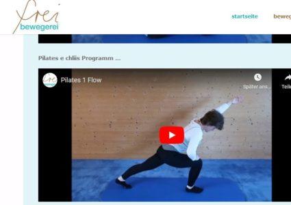 Bewegungs-Videos für Daheim